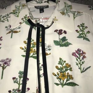 Topshop NWT button up blouse